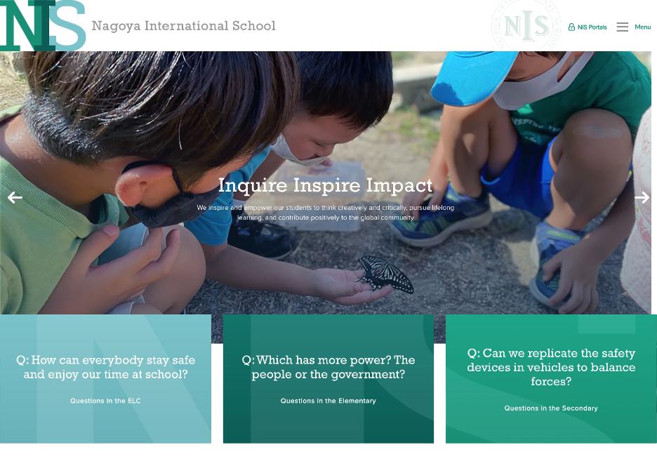 Nagoya-International-School-Homepage
